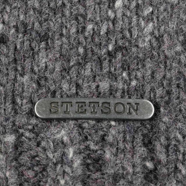 Hagen Knit Scarf by Stetson-grey