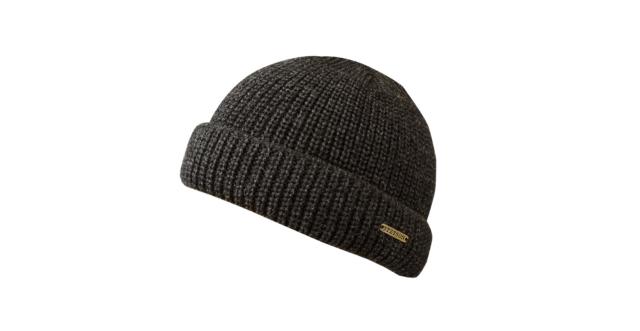 Meriinovillane kootud müts tumehall Stetson