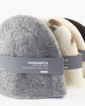 vilditud villane saunamüts käsitöö