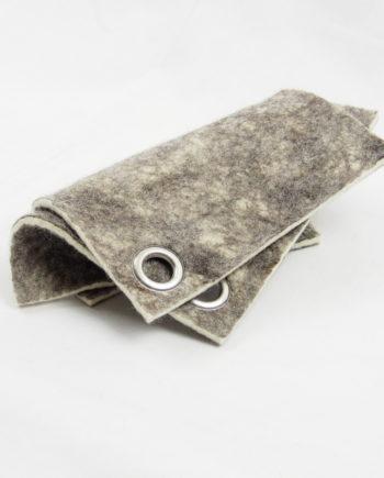 Pot Holders, Handmade, 100% Wool Felt,