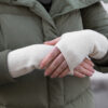 Wrist Warmers Wool white