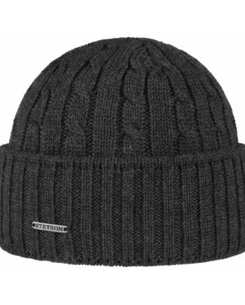 beanie wool gray