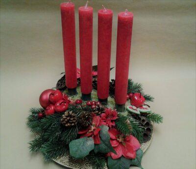 lõhnaküünal jõulupunš antiik