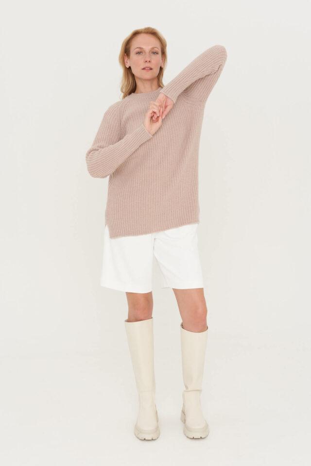 meriino ja kašmiirvillane sviiter naistele