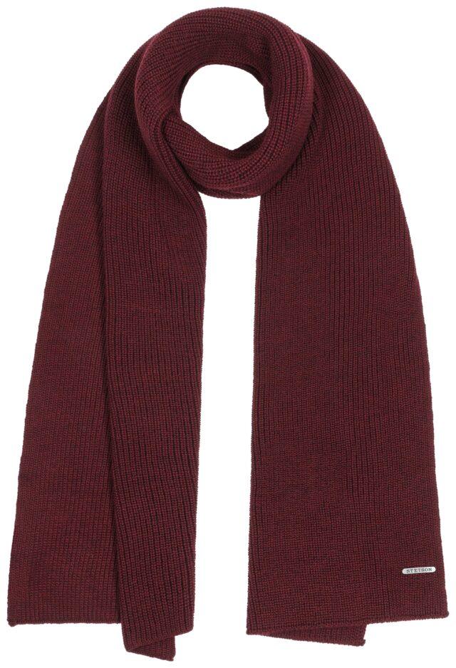 scarf merino red Stetson
