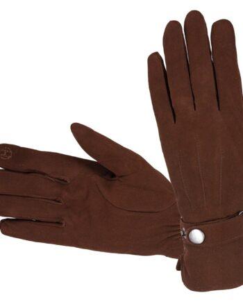 naiste nahkkindad villaga Hofler Touchscreen