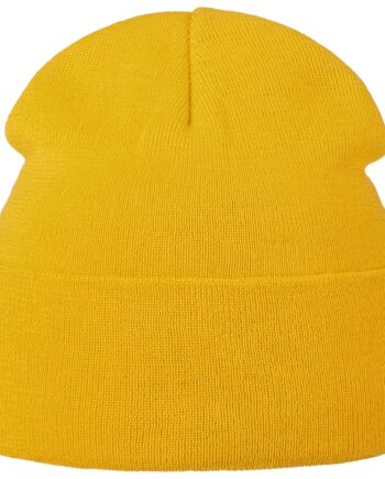 õhuke villane müts kollane