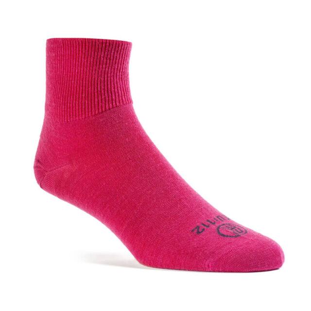 poolkõrge meriino sokk roosa